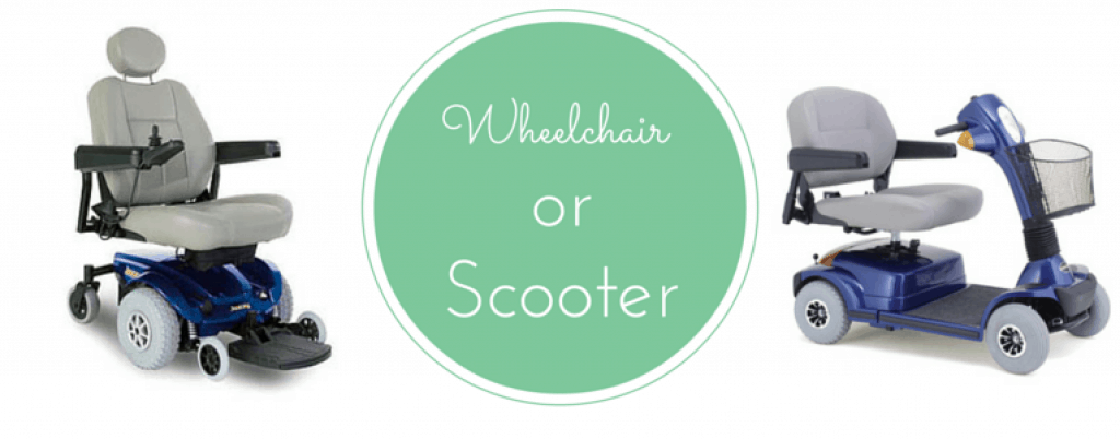 Wheelchair Or Scooter?