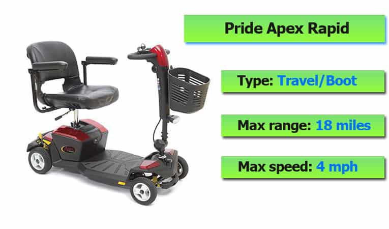 Pride Apex Rapid Scooter