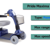 Pride Maxima Scooter Review