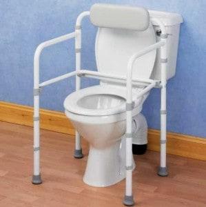 Folding Toilet Rail