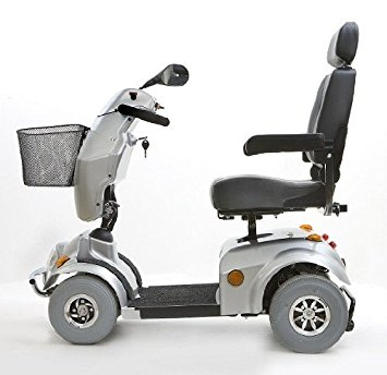 Freerider City Ranger 6 Class 3 4 Wheel Mobility Scooter - Silver ...