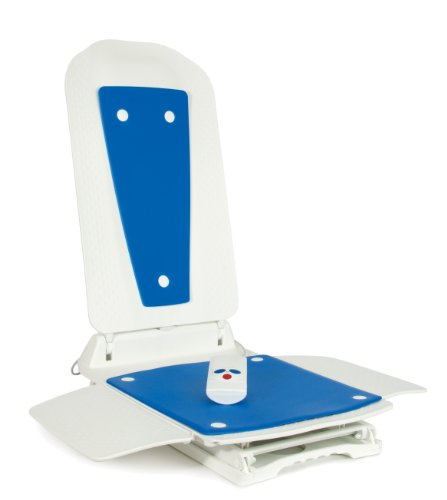 Patterson Medical Bathlift Bathmaster Deltis with Cover, Blue (Eligible for VAT relief in the UK)