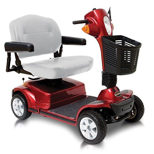 Pride Maxima 4 Wheel Heavy Duty Mobility Scooter - Red