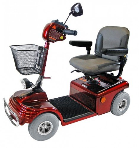 Shoprider Sovereign 4 Mobility Scooter Wheeled Travel Car Basket Captain Seat