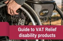 Guide to VAT Relief for disability Products