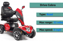 Drive Cobra Scooter Review