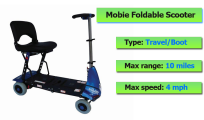 Mobie Portable Scooter From Monarch Mobility