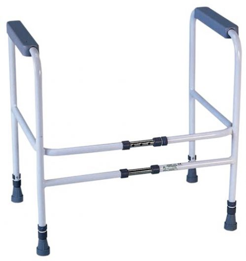 Aidapt Broad Stairs Toilet Frame with Adjustable Height and Width