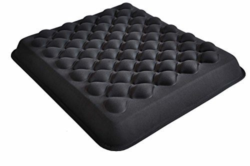 Love Home Cool Gel Foam Coccyx Seat Cushion - Cool Gel & High Density Polyurethane Foam Combined Covered With Water-resistant...