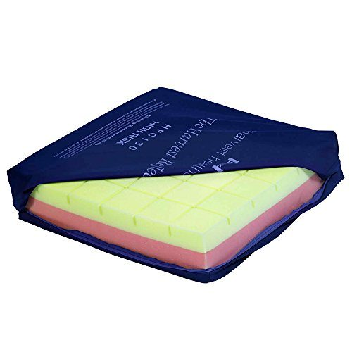 NRS Healthcare Reflect Castellated Memory Foam Cushion – Pressure Care (Eligible for VAT relief in the UK)
