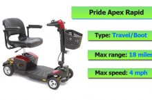 Pride Apex Rapid Mobility Scooter Review